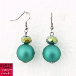BO perle ronde verte, effet Gomme