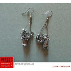 BO perles pampilles Argentées