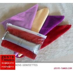 Set Mini serviette & oshibori thé blanc