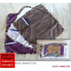 Serviette visage et main, fini Biais - medium
