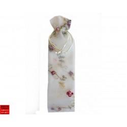 Étui éventail  pas cher - Brodé mini fleurs