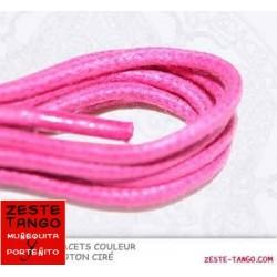 Lacet couleur Rose Bonbon