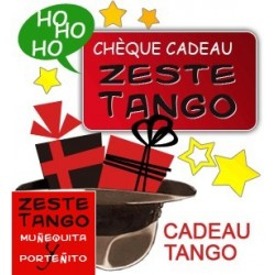 Carte cadeau Zeste Tango