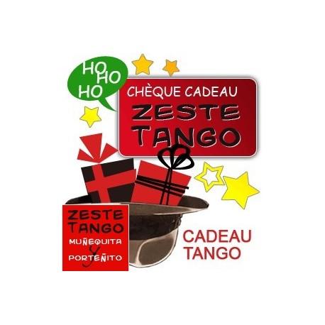 Carte cadeau Zeste Tango