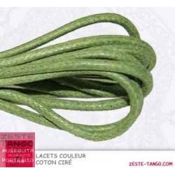 Lacet couleur Vert Olive