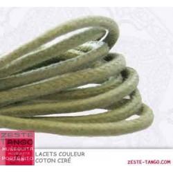 Lacet couleur Vert Amande