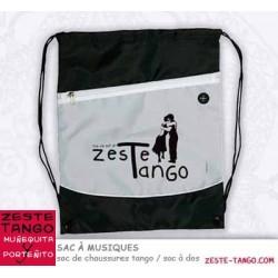 Sac chaussures tango, Sac à dos - Blanc/Noir