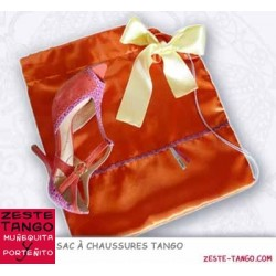 Sac chaussures tango 'Mira me' - Satin duchesse