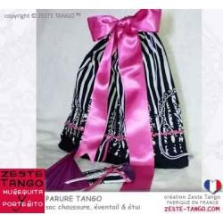 Sac chaussures tango - Parure española Rose